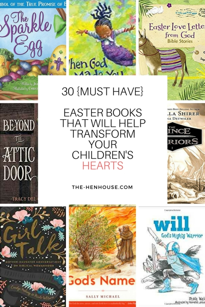 30+Easter Books that will transform your children's Hearts(1)