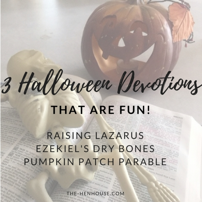 3 Halloween Devotions