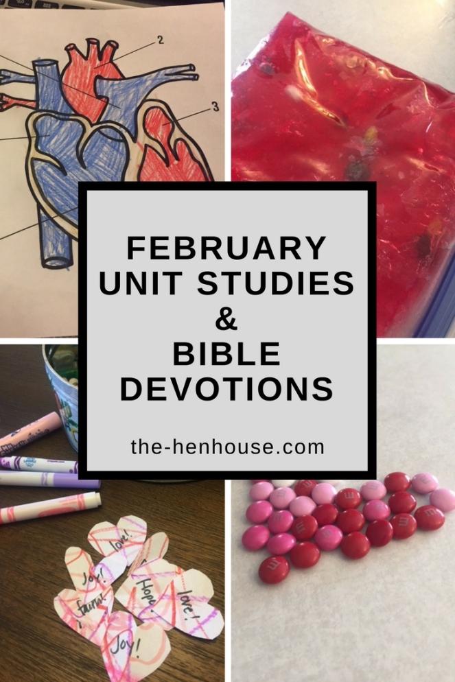 FebruaryUnit Studies